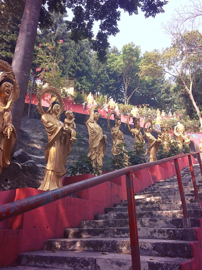 10,000 Buddhas Monastery - Hong Kong