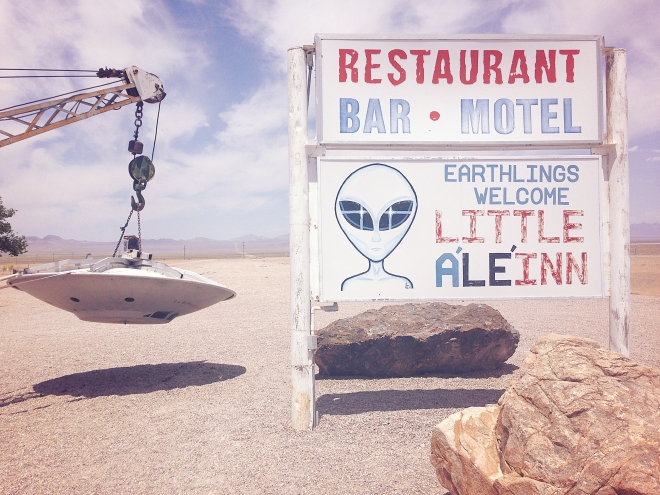 Las Vegas: Area 51 - Nevada, USA