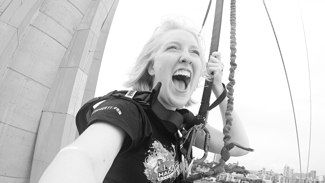 The World's Highest Bungy Jump - GraceGoesGlobal.com