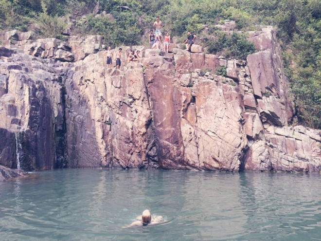 Sai Kung Cliff Jumping - GraceGoesGlobal.com